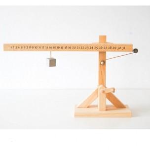 "Calendario da tavolo ""Leonardo"" by dESIGNoBJECT"