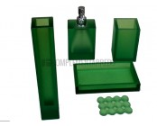 "Outlet Portasapone Infrangibile ""Le Bolle S"" Verde by Geelli - conf. 3 pz"
