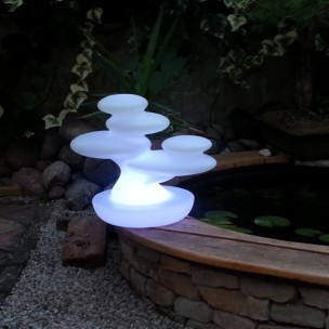 Lampada da esterno Bonsai ricaricabile by MyYour