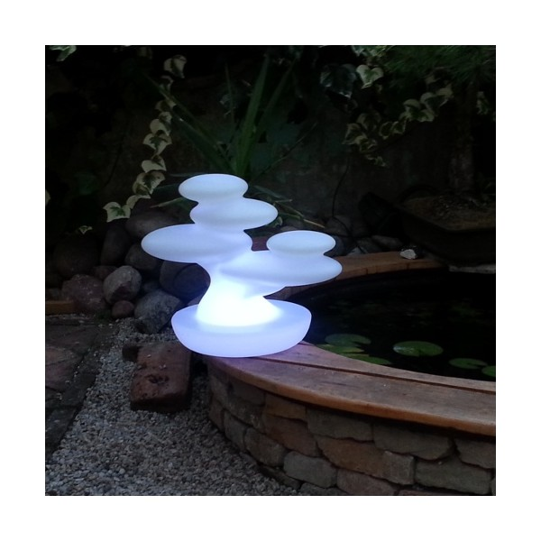 Lampada da esterno bonsai ricaricabile by myyour for Bonsai da esterno